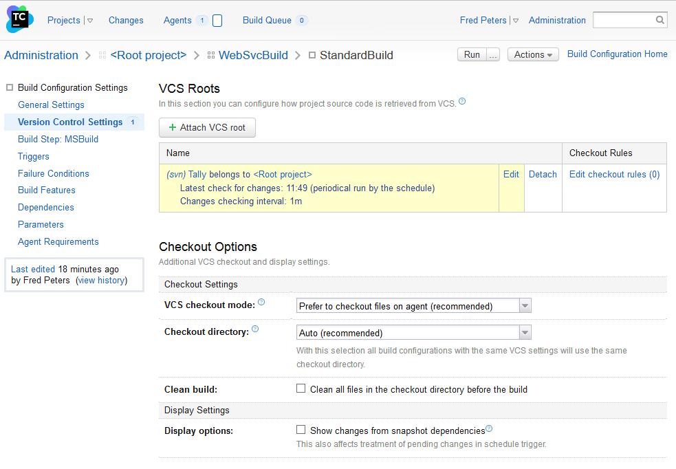 TeamCity Setup for Web API Application | The Moon Upstairs